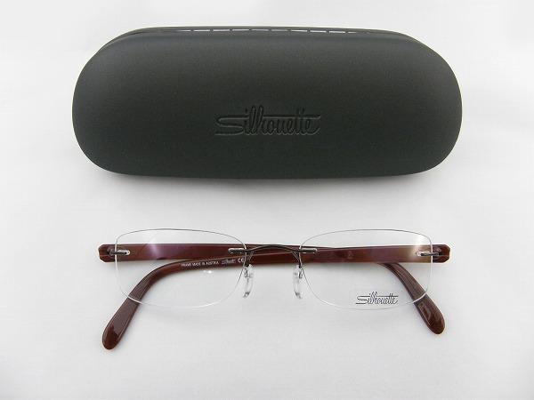 【レンズセット】[Silhouette] シルエット 7652-42-6052-51 ワインレッド SEIKO1.67超薄型レンズ付セット お買得 レンズセット 伊達メガネ メガネフレーム めがね
