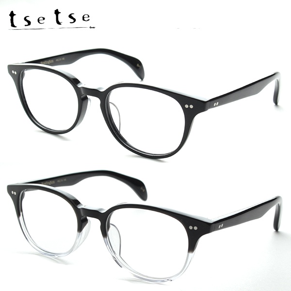 [tsetse] ツェツェ 度付き Boslington メガネ ボスリントン 日本製 度付き対応可 ボストン ウェリントン レトロ 新品 国産 眼鏡 めがね 伊達 度付可 男女兼用 正規品