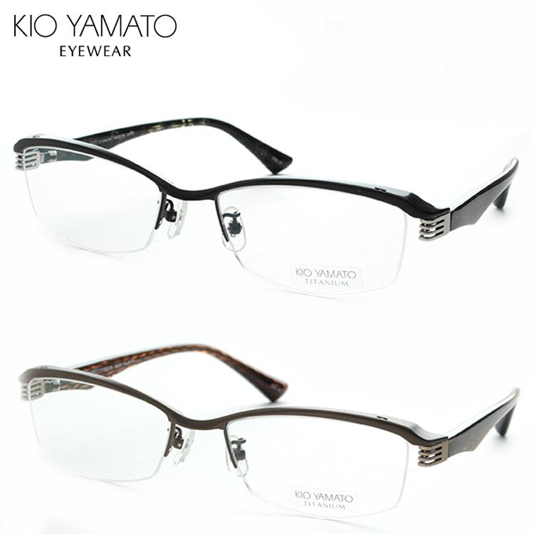 KIO YAMATO キオヤマト KT-440J-54 メガネ 度付き メンズ 日本製