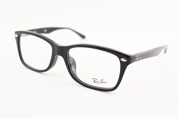 446c70ba559  Ray-Ban  Ray Ban RX 5228F-2000 glasses spring classic fashionable RAYBAN  square black rim logo men and women cum for featured new real glasses ITA  glasses ...
