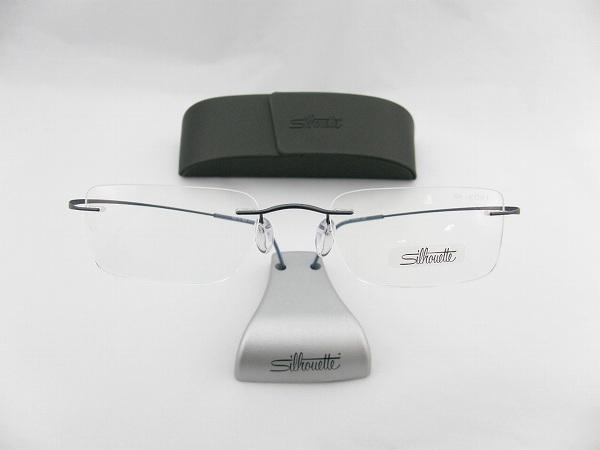 【レンズセット】[Silhouette]シルエット メガネフレーム7624-41-6065 SEIKO1.67超薄型レンズ付セット(新品 )