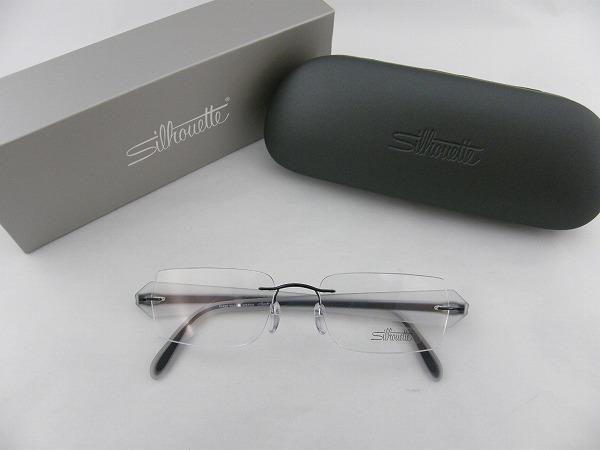 【レンズセット】送料無料 [Silhouette] シルエット メガネフレーム 4203-6053-52 SEIKO1.67超薄型レンズ付セット ブラック めがね チタン 伊達メガネ ダイナミクス 軽い 専用ケース付属