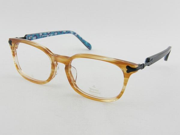 [Vivienne Westwood] ヴィヴィアンウエストウッド 7040-YT メガネ 新作 涼し スリム 細身 カジュアル 女子 バンド ロック パンク 新品 モチーフ 眼鏡 バッグ めがね オーブ
