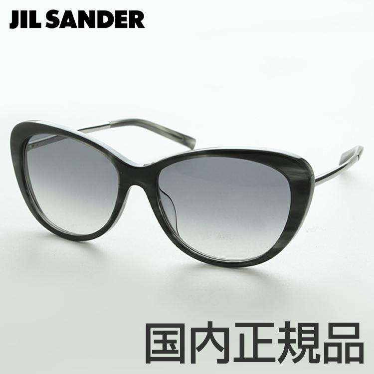 JILL SANDER ジルサンダー J3001-L-58 サングラス UVカット フォックス