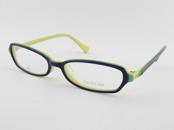 【レンズセット】ビュイレンズセット [ATELIER SAB] アトリエサブ bui 2087-3 PCメガネ 事務 パソコンメガネ ツートン 新品 眼鏡 めがね ビュイ 眩しさ 正規品