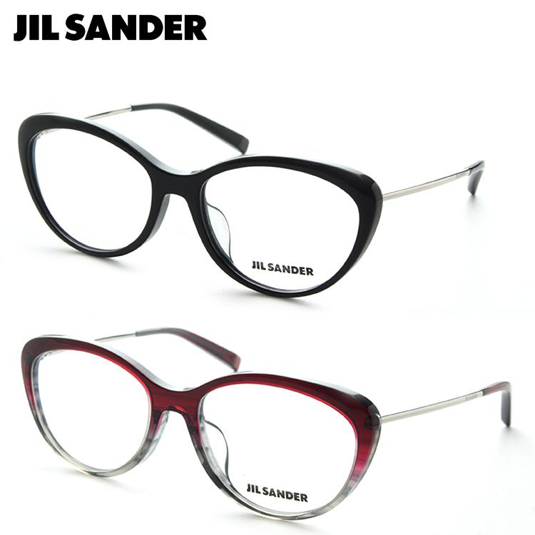 JILL SANDER ジルサンダー J4001 メガネ 度付き レディース フォックス