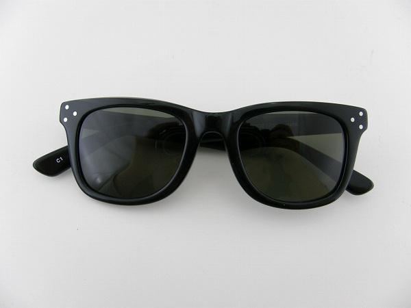 [D-for] ディーフォー サングラス 11458-C1 ブラック ハードケース付 ゴーグル 正規品 グリーンスモーク
