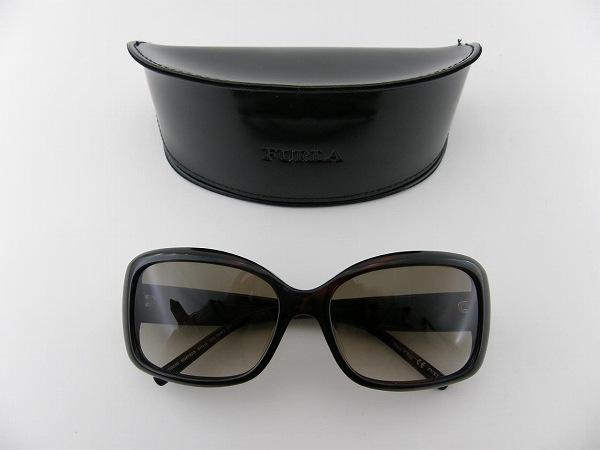 [FURLA] フルラ サングラス SU4782G-6WJ スクエア NEWモデル 専用ケース付 最新 シンプル UV 新品 紫外線カット 人気 ブランド シンプル 小顔効果 正規品