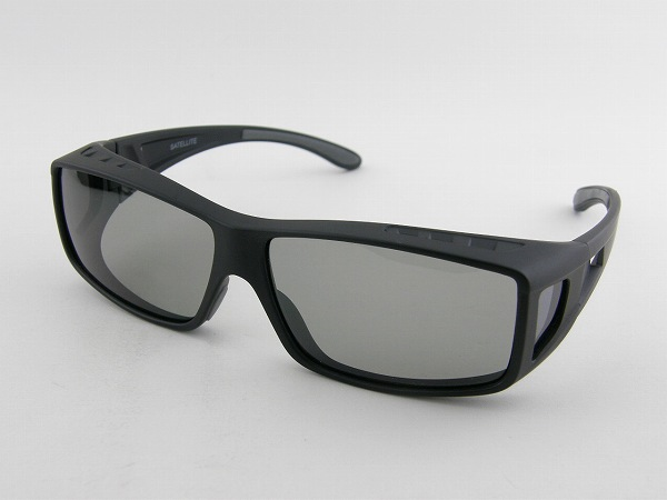 [BOKEN OH] 冒険王 オーバーサングラス XST-10S 調光 偏光 2014年 眼鏡の上 スポーツ エアダクト 通気 軽い