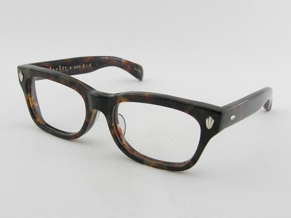 [tsetse×甚六作] TCL-SP1-8 メガネフレーム セル 茶色 ウェリントン ツェツェ 高級感 度付可 べっ甲柄 人気 新品 眼鏡 レトロ めがね 男女兼用 クラシカル 正規品