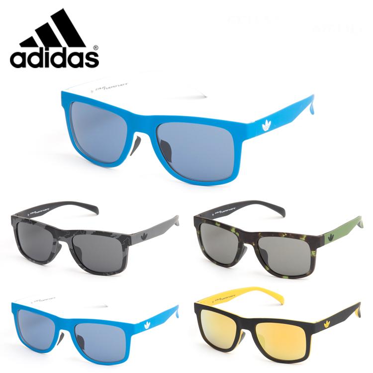 【送料無料】adidas アディダス サングラス AOR000 53 ウェリントン バイカラー メンズ レディース カジュアル カラーレンズ 正規品