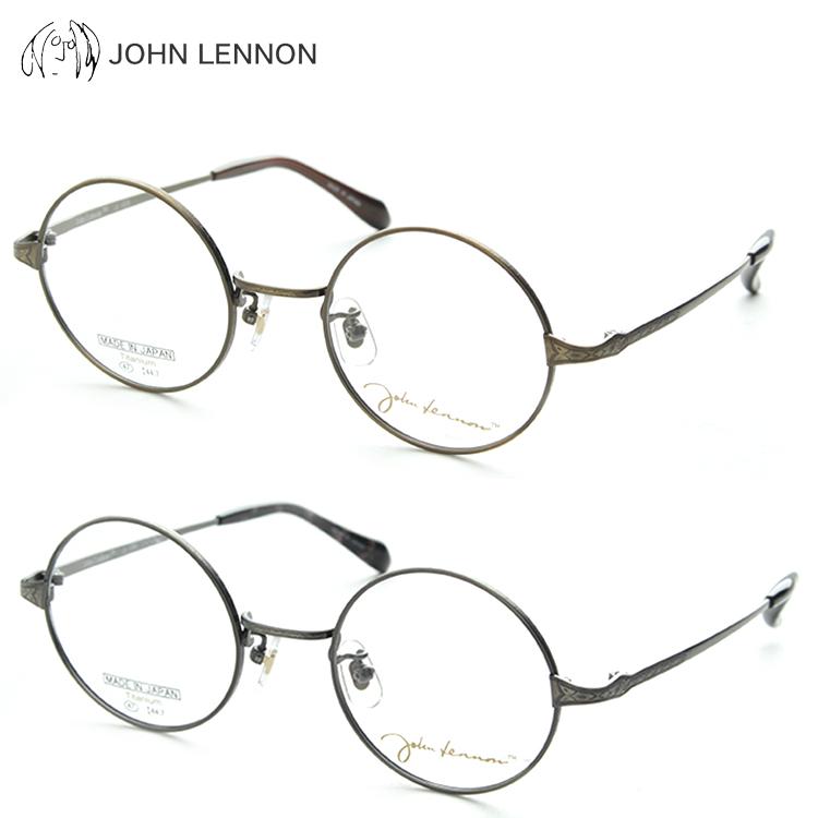 JOHN LENNON ジョンレノン JL1035 メガネ 度付き 大きめ 丸めがね
