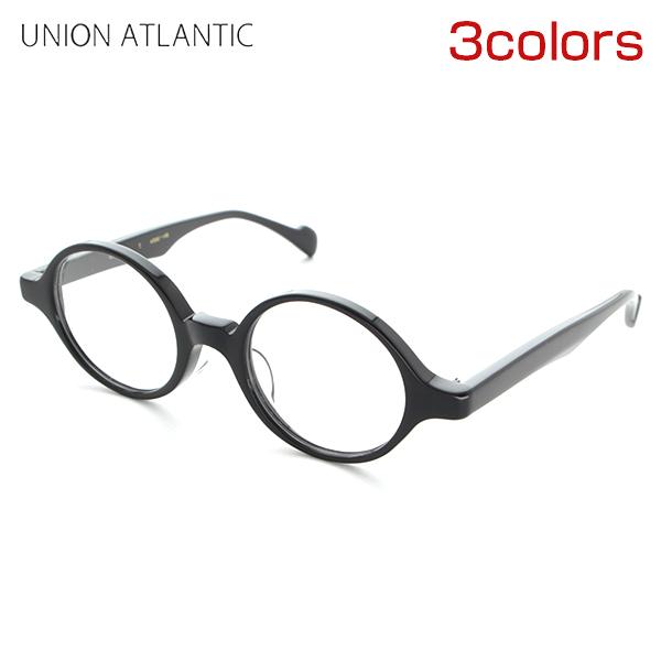 【送料無料】[UNION ATLANTIC] ユニオンアトランティック 度付き UA3604 全3色 メガネ 黒縁 レトロ ラウンド 日本製 JAPAN ラウンド 新品 めがね スマート 丸眼鏡 ハンドメイド 正規品