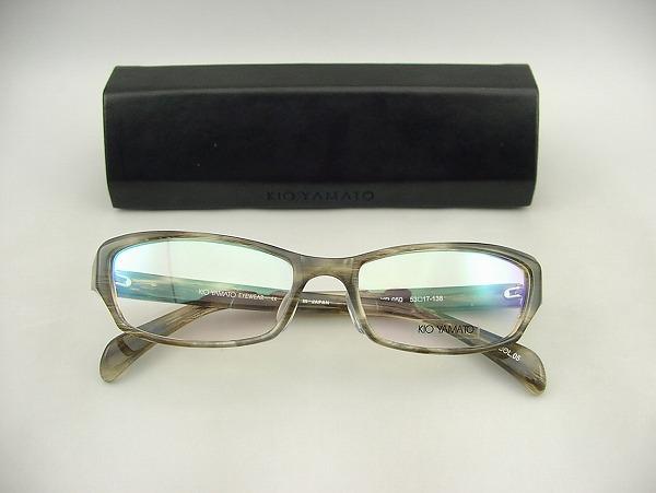 注文後の変更キャンセル返品 KIO YAMATO キオヤマト 正規品 結婚祝い 新品 メガネフレームKP-050-05