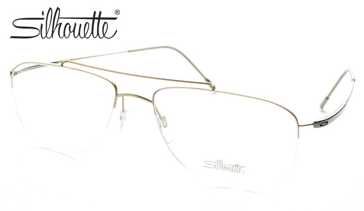 Silhouette シルエット 5281-6051 メガネ 度付き 映画 マネー・ショート ブラピ