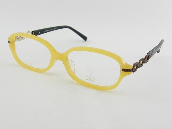[Vivienne Westwood] ヴィヴィアンウエストウッド 7041-YL メガネ イエロー Vivienne Westwood 女子 パステルカラー 黄色 新品 モチーフ 眼鏡 バッグ めがね オーブ