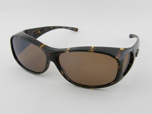 [FITOVERS] フィットオーバー EM007A サングラス 偏光 べっ甲柄 オーバーグラス スポーツ UVカット 正規品 | スポーツサングラス かっこいい 偏光サングラス おしゃれ