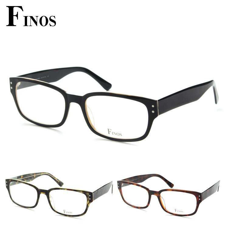 【レンズセット】FINOS フィノス SLA-N003 メガネ レンズセット オシャレ