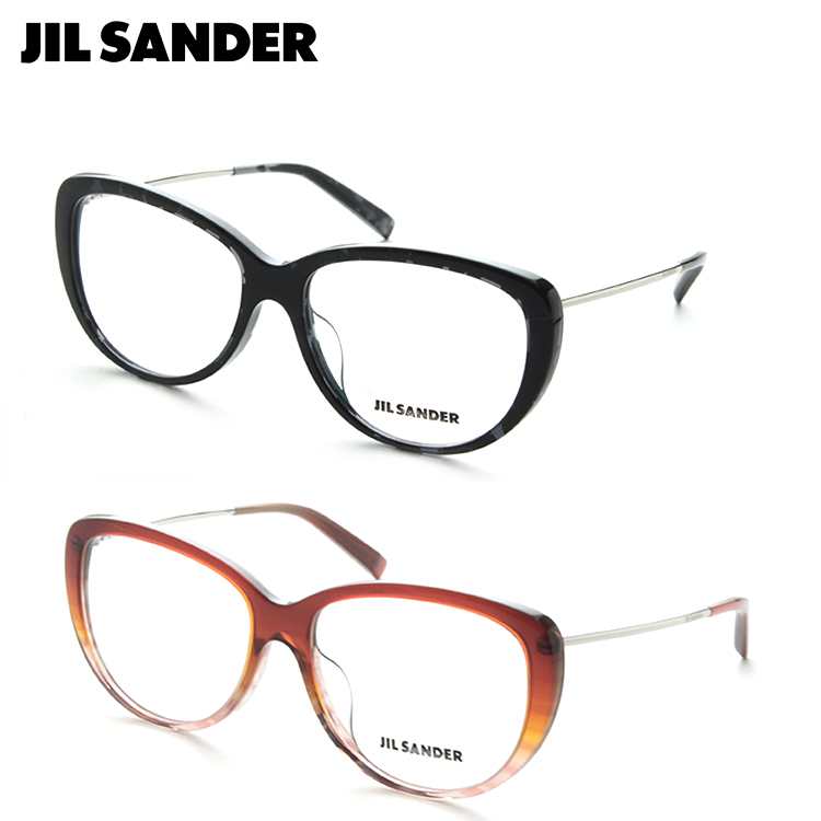 JILL SANDER ジルサンダー J4003 メガネ 度付き ユニセックス チタン