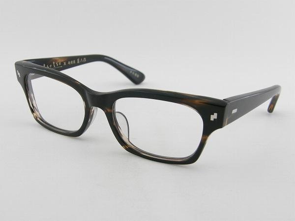 [tsetse×甚六作] TCL-003-3 メガネフレーム 茶色 シック ウェリントン ツェツェ 高級感 度付き可 知的 上品 新品 眼鏡 レトロ めがね 男女兼用 クラシカル 正規品