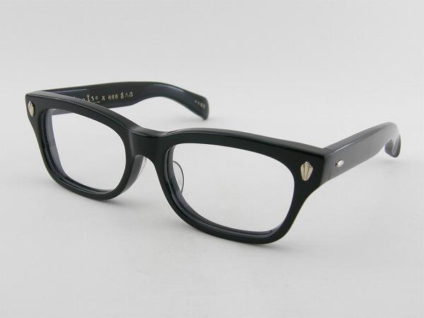 [tsetse×甚六作] TCL-SP1-1 メガネフレーム クロセル 黒 ウェリントン ツェツェ 高級感 度付可 ブラック 黒縁 新品 眼鏡 レトロ めがね 男女兼用 クラシカル 正規品
