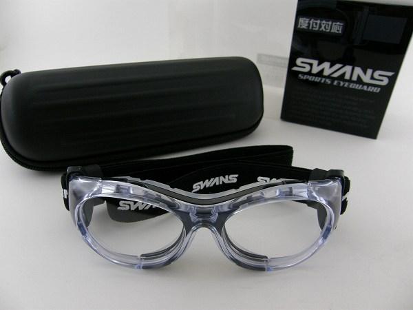 【送料無料】スワンズ ゴーグル SWANS SVS-600N-BLK SWANS スポーツ用眼鏡