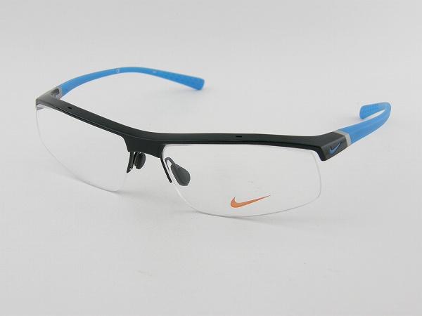 【レンズセット】[NIKE] ナイキ メガネセット7071-3-008 薄型レンズ付 野球 スポーツ ゴルフ テニス マラソン 度付サングラスに 新品 軽量 アスリート設計 プロ使用 送料込み