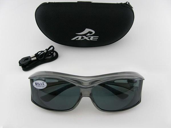 アックス サングラス オーバーグラス 日本製 AXE sunglasses SG 605P SM GRN 3点セットwPTiZlXkuO