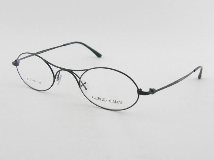 giorgio armani giorgio armani 5027t 3001 glasses frame round small lightweight antique with