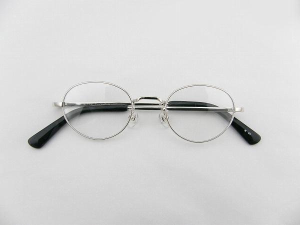 送料無料 [Empire] エンパイヤ メガネフレーム EMP-052-W-44 新品 シルバー めがね 正規品 ケース 伊達メガネ