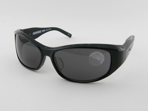 [BOUCHE] ブーシュ MARDOC-MAX-BLK-SMK 新作サングラス ゴーグル バイカー ストリート サーファー ワイルド 新品 バイク 紫外線 UVカット サーフィン 正規品