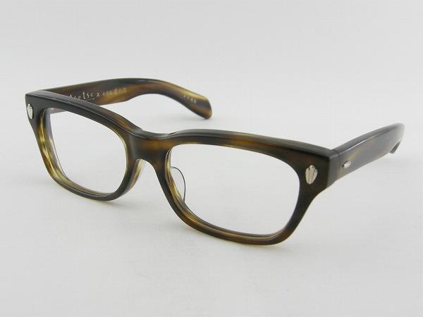 [tsetse×甚六作] TCL-SP1-4 メガネフレーム ダテ 伊達 茶 ウェリントン ツェツェ 高級感 度付可 国産 ブラウン 新品 眼鏡 レトロ めがね 男女兼用 クラシカル 正規品