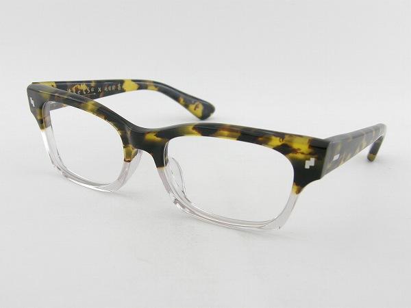[tsetse×甚六作] TCL-003-6 メガネフレーム 個性的 柄物 ウェリントン ツェツェ 高級感 度付可 べっ甲柄 伊達 新品 眼鏡 レトロ めがね 男女兼用 クラシカル 正規品