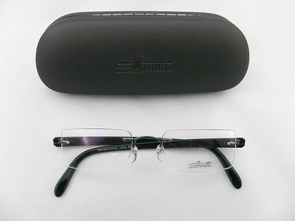 [Silhouette] シルエットSilhouette メガネ7651-42-6051 SPX素材 軽量 専用ケース付属CONTRASTIめがね眼鏡