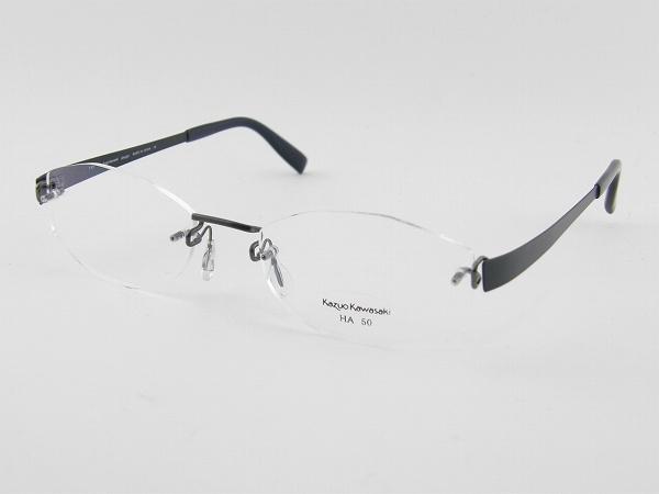 [Kazuo Kawasaki] カズオカワサキ メガネフレーム MP-714-HA45-50 川崎和男 ペイリンで話題 しなやか ベータチタン 新品 専用ケース付 日本製 メガネ 眼鏡 正規品