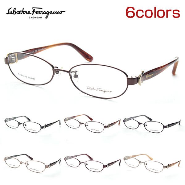 Salvatore Ferragamo フェラガモ SF2507A メガネ 度付き レディース