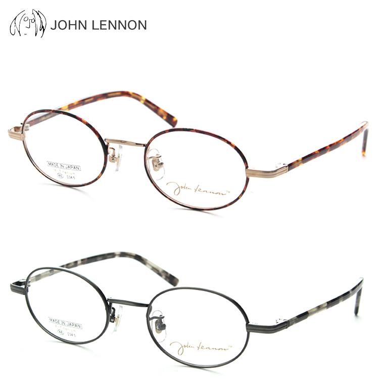 JOHN LENNON ジョンレノン JL1037 メガネ 度付き 鼻パッド オーバル