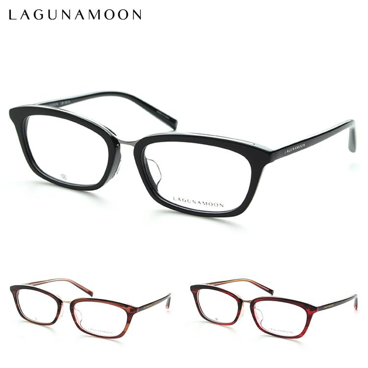 LagunaMoon ラグナムーン LM5018 メガネ 度付き レディース シンプル