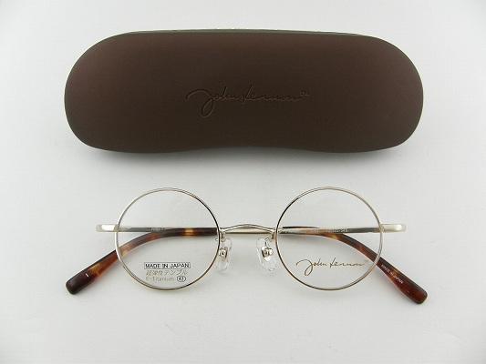 [JOHN LENNON]约翰·列侬眼镜JL1020-1圆眼镜日本佣人日本制造古典昭和局细长眼镜重新流行专用的情况