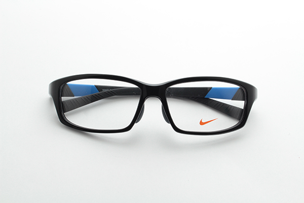 [NIKE] Nike once without glasses frame NK7879AF all 4 color blue jogging NIKE exercise for runners exercise square active brand new real glasses elastic resin Marathon ITA eyeglasses logo genuine