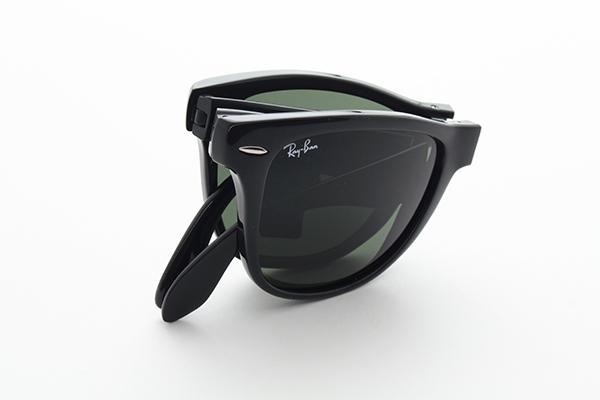[雷朋] 射线禁止 RB4105-601-54 太阳镜折叠小雷折叠大尺寸玻璃全新真正 UV 切经典男装流行图案 UV 真正