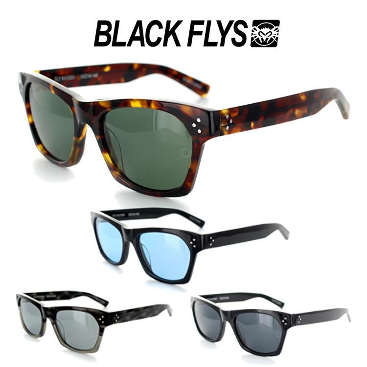 【送料無料】ブラックフライ サングラス FLY KAYDEN 1225 53サイズ スクエア ユニセックス 男女兼用 BLACK FLY フライ ケイデン 偏光レンズ UVカット国内正規品