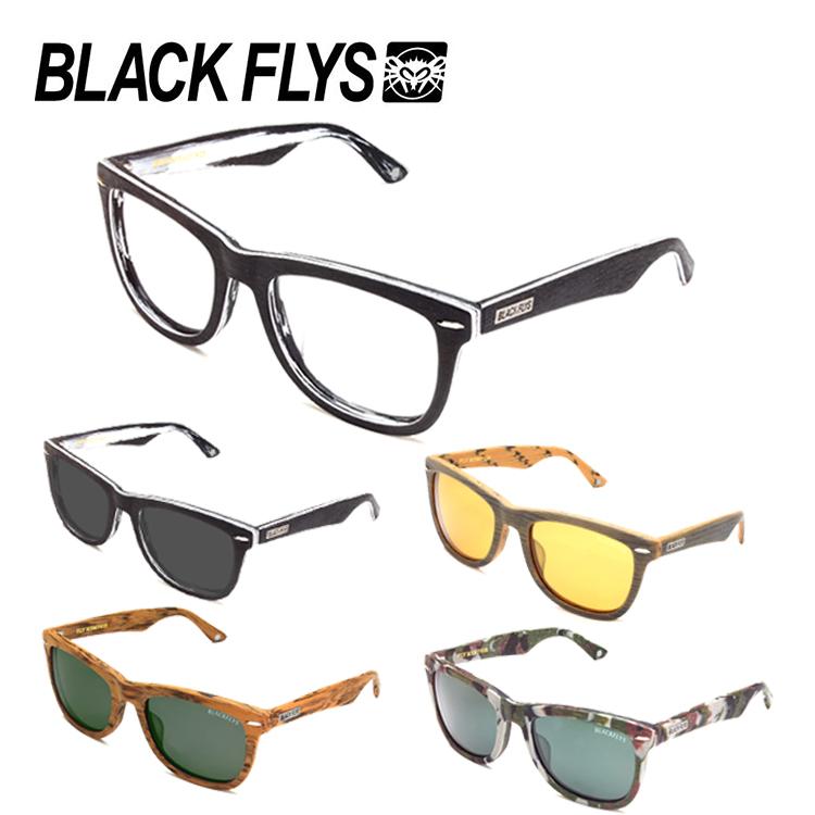 【送料無料】BLACK FLYS ブラックフライ サングラス FLY MEMPHIS WOOD EFFECT 14824 フライメンフィス ウッドエフェクト 54サイズ メンズ 男性用 紫外線カット 紫外線予防 UVカット 国内正規品