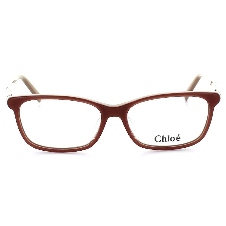 供克洛Chloe眼镜眼镜架子CE2628 749 53尺寸惠灵顿桃子裸体女士女性使用的UV cut紫外线cut