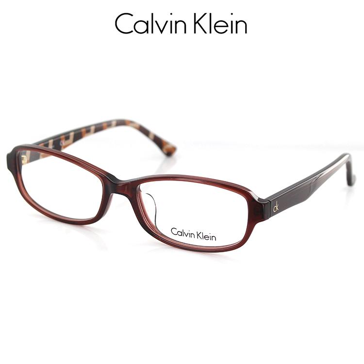 【送料無料】カルバンクライン メガネフレーム CK5848A 201 54サイズ スクエア クリアブラウン ユニセックス 男女兼用 Calvin Klein 眼鏡フレーム PCメガネ ブルーライトカット 度付き対応可