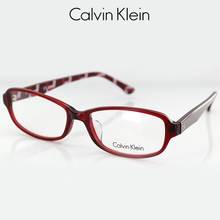 【送料無料】カルバンクライン メガネフレーム CK5848A 615 54サイズ スクエア クリアレッド ユニセックス 男女兼用 Calvin Klein 眼鏡フレーム PCメガネ ブルーライトカット 度付き対応可