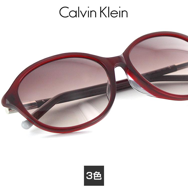 【送料無料】【国内正規品】カルバンクライン サングラス CK-4344SA 57サイズ オーバル レディース 女性用 Calvin Klein レディース プラスチック UVカット 紫外線カット