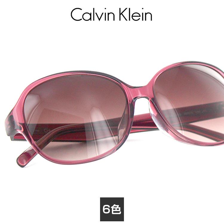 【送料無料】【国内正規品】カルバンクライン サングラス CK-4349SA 56サイズ オーバル レディース 女性用 Calvin Klein レディース プラスチック UVカット 紫外線カット