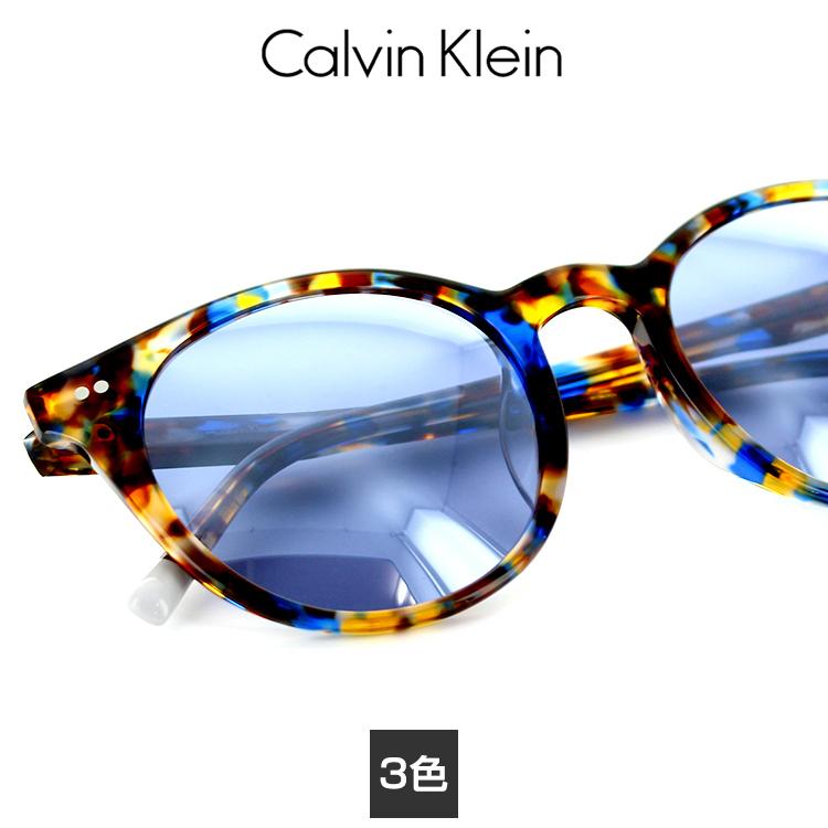 【送料無料】【国内正規品】カルバンクライン サングラス CK-4347SA 50サイズ ボストン ユニセックス 男女兼用 Calvin Klein レディース プラスチック UVカット 紫外線カット