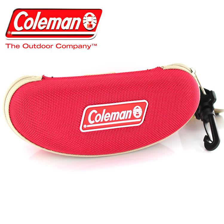 コールマン サングラスケース レッド CO 07-2 Coleman アウトドア 2WAY 大きめ ゴーグル ベルト通し お中元 小物 メガネケース 即出荷 キャンプ